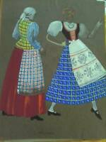 Costume Drawing : Lithuania