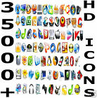 35,000 High & Standard Definition Ultimate Icons Pack