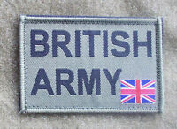 NEW - BRITISH ARMY Green Velcro Patch for UBACS or MTP