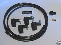 Ignition Lead Kit Water Resistant Plug Caps Coil Suppressor St8 Push In Coil ter