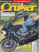 MOTORCYCLE CRUISER Magazine APRIL 2011 (NEW COPY)