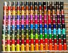 SUPER 185 CONES POLY MACHINE EMBROIDERY THREADS + RACK for SINGER
