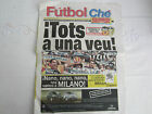 2000-1 VALENCIA CF v LEEDS UNITED CHAMPIONS LEAGUE OFFICIAL FUTBOL CHE ISSUE