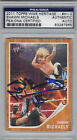 2011 Topps WWE WWF Heritage Shawn Michaels Signed Trading Card PSA/DNA Slabbed