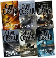 Clive Cussler Collection 6 Books Set New RRP £ 55.93 |