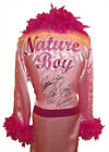 WWE NATURE BOY RIC FLAIR SIGNED PINK ROBE WITH PROOF
