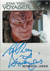 Quotable Star Trek Voyager Autograph Card Anthony DeLongis as First Maje Culluh