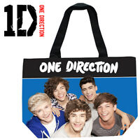 One Direction 1D Extra Large XL Shoulder Tote Shopping School Gym College Bag