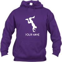 STREET DANCE PERSONALISED WITH YOUR NAME HOODIE ADULT & KIDS