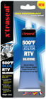X'traseal Gasket Sealant BLUE 500F, HIGH TEMPERATURE RTV Silicone, 85gm TUBE