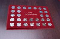 (P50P) SCHULZ EXCLUSIVE 50P LONDON TRAY SPORT COLLECTION CASE Coin Tray 50p