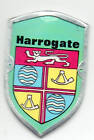 """HARROGATE - WALKING / HIKING STICK BADGE / MOUNT-.""""NEW"""" with PINS"""