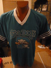 Portland Sea Dogs Baseball Mens Jersey Licensed Don Alleson Sizes XL,2XL