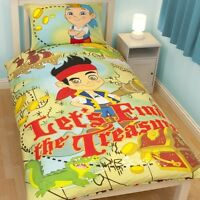 Jake and the Neverland Pirates Single Panel Duvet Cover Bed Set