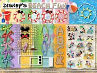 DIGITAL SCRAPBOOKING KIT~DISNEY'S SUMMER BEACH FUN~CUTE