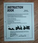 MURRAY 18 HP 425016X48A LAWN TRACTOR OWNERS MANUAL PARTS LIST