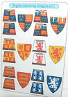 18 Custom stickers for lego castle kingdoms KNIGHTS - english medieval knight