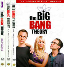 The Big Bang Theory ~ Complete Season 1-3 (1 2 & 3) ~ NEW 3 PACK 10-DISC DVD SET