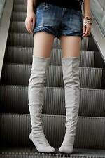Womens Sexy Cosplay High Stiletto Heel Over The Knee Thigh High Leg Knee Boots