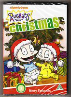 RUGRATS - CHRISTMAS - 3 MERRY EPISODES - NEW AND SEALED - DVD - NICKELODEON