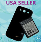 EXTENDED 4500 mah Battery +Cover for Samsung Galaxy SIII S3 i9300/T999/i535/L710