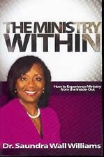 NEW Ministry Within by Dr Saundra Williams Paperback Book (English) Free Shippin