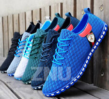 5 Colors Fashion Men's Breathable Sneaker Athletic Sport Casual Trainers Shoes