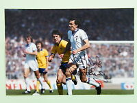 SIR TREVOR BROOKING HAND SIGNED AUTOGRAPH 12X8 PHOTO WEST HAM UNITED FA CUP 1980