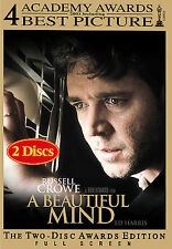 A Beautiful Mind (DVD, 2002, 2-Disc Set, Limited Edition Packaging; Full...