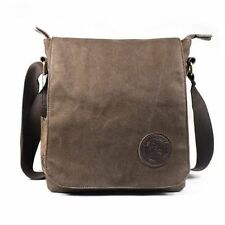 CLEARANCE~Men's Vintage Canvas Leather Satchel Schoolbag Shoulder Bag Messenger