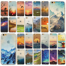 Phone Painted Various Pattern Soft Skin Case Cover for iPhone 4 4S 5 5S 6 6Plus