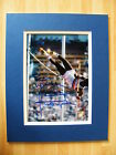 DALEY THOMPSON HAND SIGNED AUTOGRAPH 10X8 PHOTO MOUNT GOLD MEDAL DECATHLON & COA