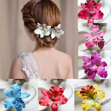 Beautiful Flower Hair Pin Clip Pin Hairband Bridal Wedding Prom Party for Women