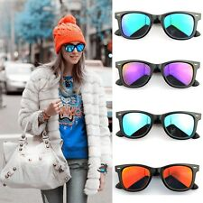 Women Men Retro Vintage Aviator UV400 Mirror Sunglasses Driving Glasses Unisex