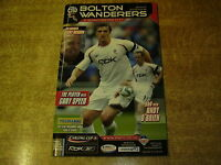 2007/08 CARLING CUP 4TH ROUND - BOLTON WANDERERS v MANCHESTER CITY