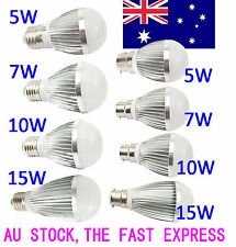 LED CREE B22 E27 5W 7W 10W 15W 240V Bayonet Edison Bulb Lamp Globe Light Lightin