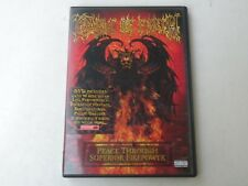 CRADLE OF FILTH - PEACE THROUGH SUPERIOR FIREPOWER - DVD - 2005 - MINT
