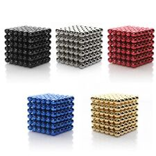 216x3mm Magic Cube Puzzle Magnetic Magnet Balls Spacer Beads Kids Child DIY Toys