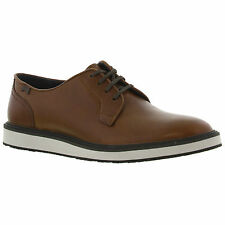 New Camper Magnus 18897 Mens Brown Leather Lace Up Shoes Sizes UK 8-11