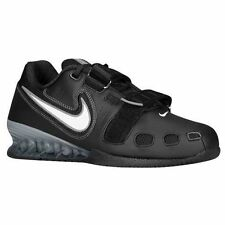 NIKE ROMALEOS 2 OLYMPIC WEIGHTLIFTING POWERLIFTING CROSSFIT SHOES BLACK WHITE