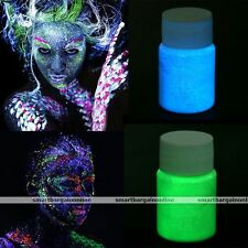 Halloween Face & Body Paint Fluorescent Super Bright UV Painting 12Colors 20ml