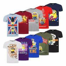 Official Minion Character Crew Neck Mens T-Shirts