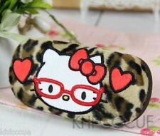 Hello Kitty San-X Rilakkuma Plush Eyeglasses Case Holder Box 3 Styles