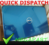 DELL INSPIRON 15R N5010 M5010 LCD BACK TOP COVER LID / REAR CASE BLUE DGV6W