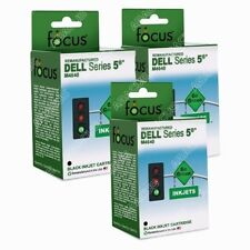 3 Black Ink for DeLL All-In-One 922 924 942 Printer M4640 (Replaces #R5956)