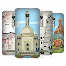 HEAD CASE DESIGNS DOODLE DELLE CITTÀ SERIE 3 COVER RETRO PER ONEPLUS ASUS AMAZON