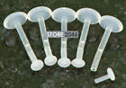 """5 Pc Bio - Flexible 16g 3/8"""" Lip Retainer W/Removable Push In Top easy to use!"""