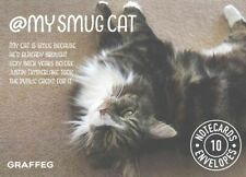 NEW My Smug Cat Notecards by Tom Cox (English) Free Shipping