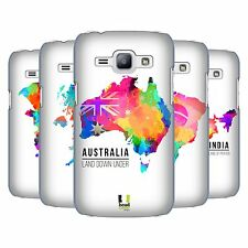 HEAD CASE DESIGNS WATERCOLOURED MAPS HARD BACK CASE FOR SAMSUNG PHONES 4