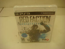 Red Faction: Armageddon  (Sony Playstation 3, 2011) PS3 BLACK LABEL NEW